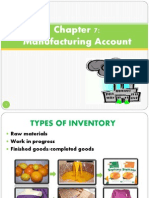 Chapter 7:Manufacturing Account