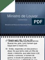 Caracteristicas Do Ministro de Louvor