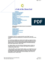The Cult of the Moon God