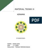 Material Keramik