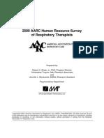 Respiratory Care Survey