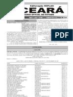 Decreto 28.691 Exerccio de Funcionrios Da Cedec Para o Cbmce