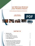 15 - Sekjen - Program Reformasi Birokrasi Aparatur Pembina Industri
