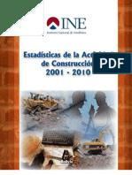 Estaisticas de La Actividad de La Construccion 2000-2010