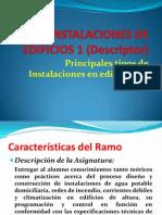1 Instalaciones de Edificios Descriptor