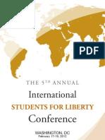 2012 ISFLC Program Booklet