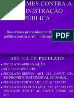 Crimes Praticados contra a Administração pública por funcionário