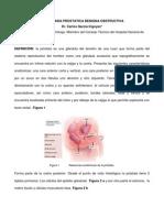 causas de antígeno prostático específico elevado