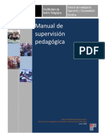 Manual de Supervision Pedagogica Disde