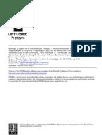 Ideologia y Poder en La Consolidacion Colapso y Reconstitucion Del Estado Mochica de Jequetepque