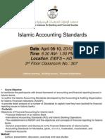 Islamic Accounting Standards