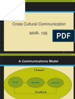Unit-3 MHR-106 Cross Cultural Communication