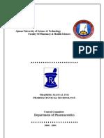 Pharmaceutical Technology Training Manual-2f