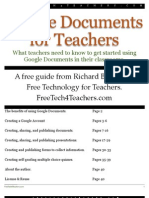 Google Docs for Teachers 2012