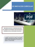 Propuesta de Innovacion Curricular Ajedrez