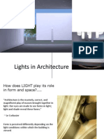 Lights in Architecture