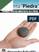 La Oferta Piedra de Alex Bobadilla