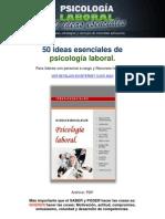 50 TÉCNICAS PSICOLOGIA LABORAL