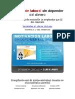 Motivacion Del Personal y Empleados