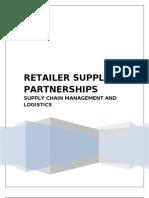 Retailer Supplier Partnerships