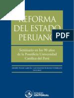 Reforma del Estado peruano. Seminario en el 90 aniversario de la PUCP