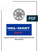 Wal-Mart_Org Structure and Strategy