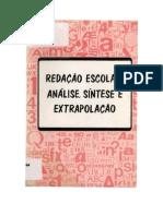 Livro-Redação-Escolar-Análise-Síntese-e-Extrapolação