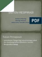 Asistensi Fisiologi Sistem Respirasi