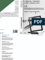 Foster, Hal - Comp La Posmodernidad