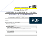 Manage Global Atp in Sap Apo