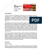 Rjc Bogota Memoria Primer Encuentro Local Pedagogia Justicia Comunitaria 2006