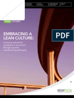 LEAN Whitepaper-Embracing a LEAN Culture