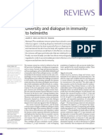 Diversity and Dialogue in Immunity to Helminths