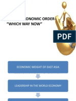 Global Economic Order