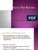 Justice for Ruchika