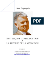 HUIT+LEÇONS+D'INTRODUCTION+A+LA+THÉORIE+DE+LA+MÉDIATION
