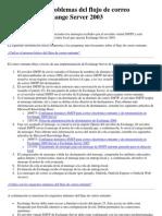 Resolución de problemas del flujo de correo entrante en Exchange Server 2003