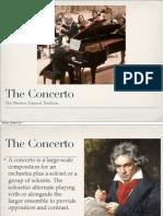Concerto Lesson