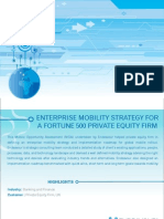 Enterprise Mobility Strategy for a Fortune 500 Private Equity Firm