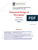 Structural Design of Pavements Australia