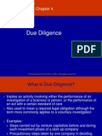 Chapter 4_Due Diligence