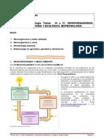 Temas 26-27. Microorganismos importancia sanitaria y ecológica