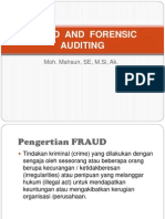 Modul Fraud and Forensic Auditing
