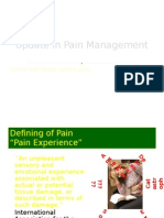 Update in Pain Management