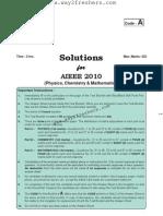 AIEEE 2010 Paper