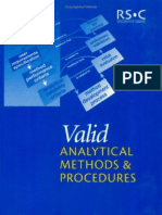 Valid Analytical Methods