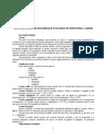 Materii Prime Si Materiale Utilizate in Industria Carnii