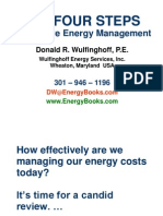 FOUR STEPS of Energy Managment