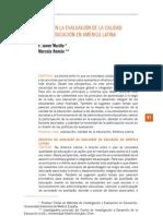 evaluación, america latina