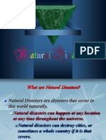 Natural Disasters Proiect